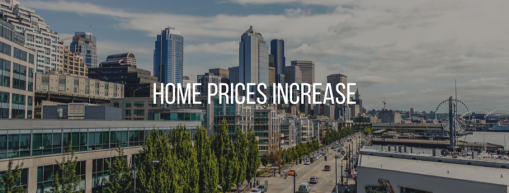 Seattle Home Prices Up 12.7%