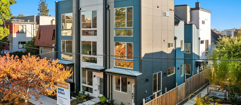 New Construction Townhomes for Sale in Ballard