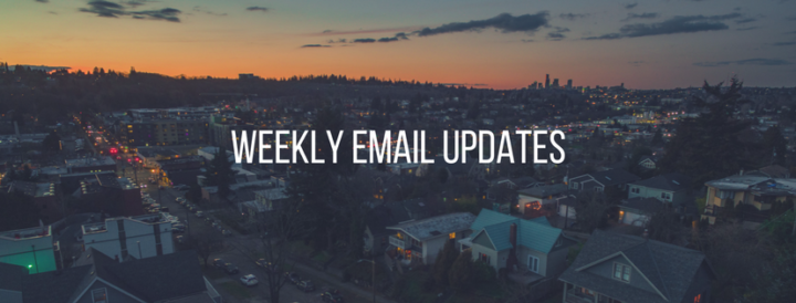 Sign Up for Our Weekly Updates